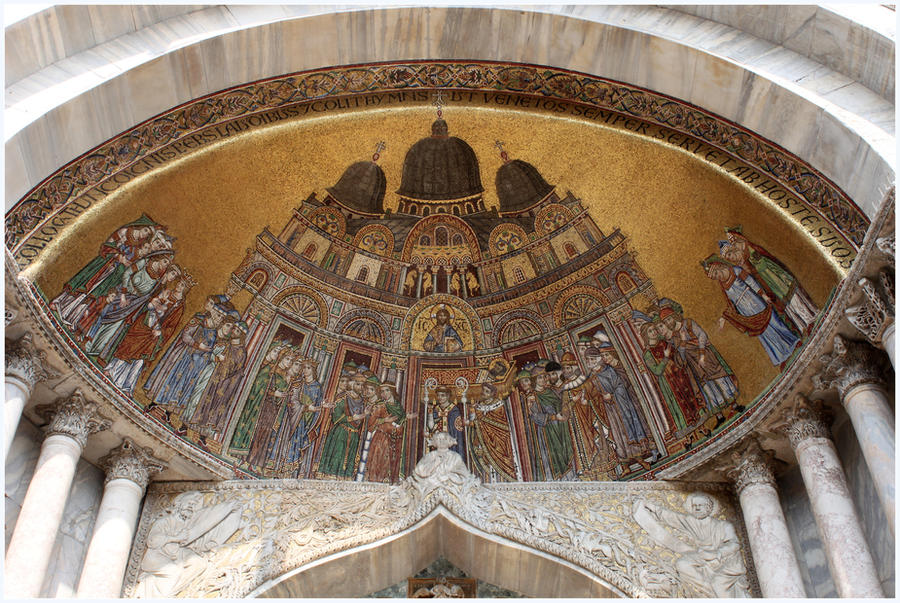 Basilica mosaics.