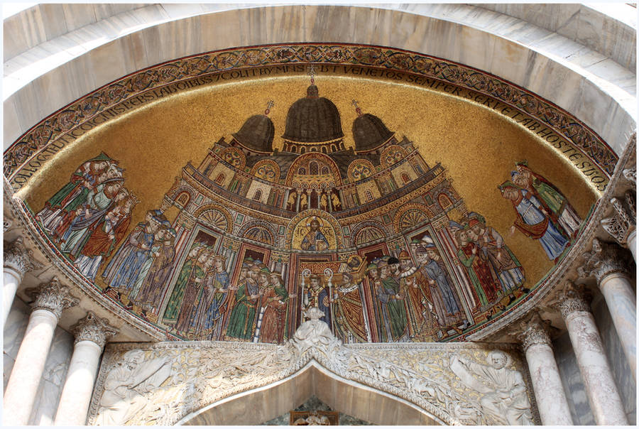 St. Mark's Basilica Mosaics by kamuidestiny