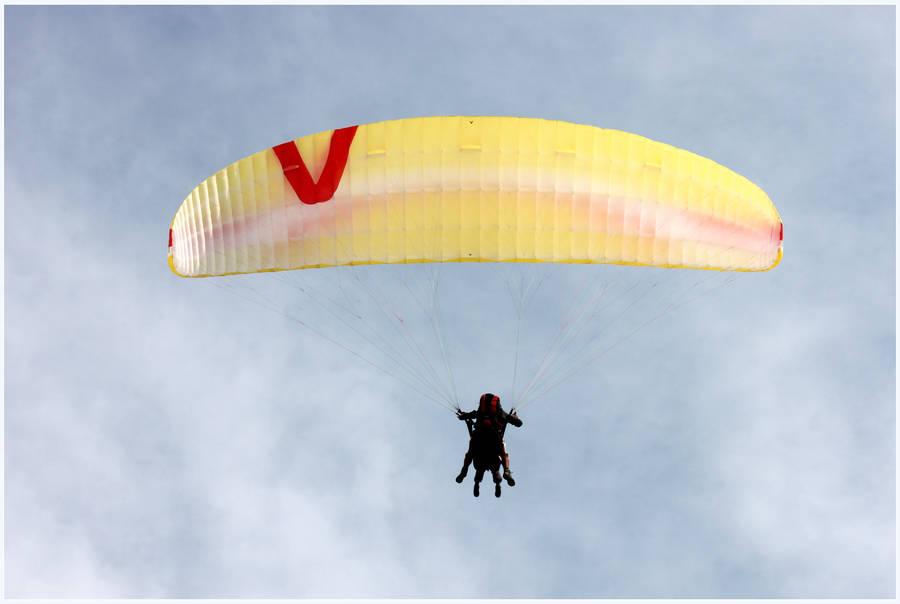 Paragliding by kamuidestiny
