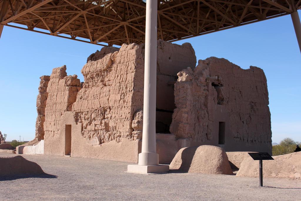 Casa Grande ruins.