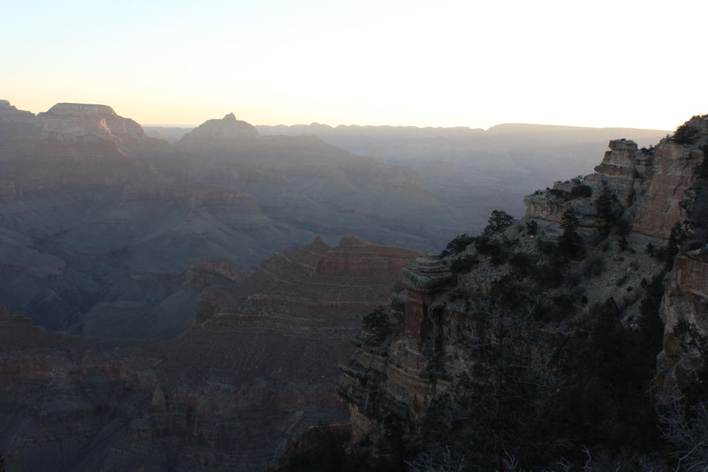 Canyon sunrise.