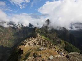 Machu Picchu 1 by kamuidestiny