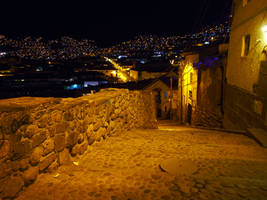 Cusco at night by kamuidestiny