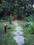 Bottle lit walkway by kamuidestiny