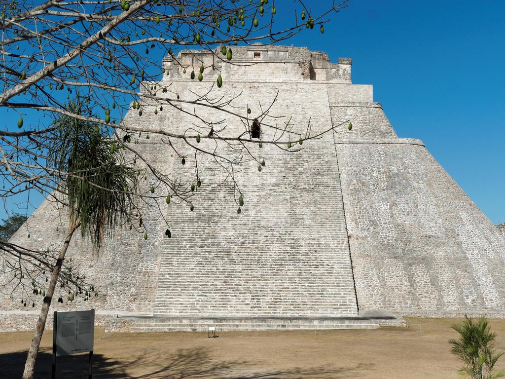 Uxmal pyramid.