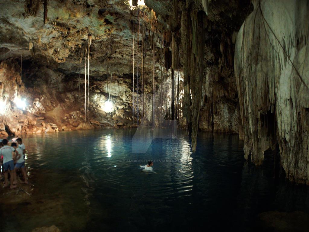 Cenote by kamuidestiny