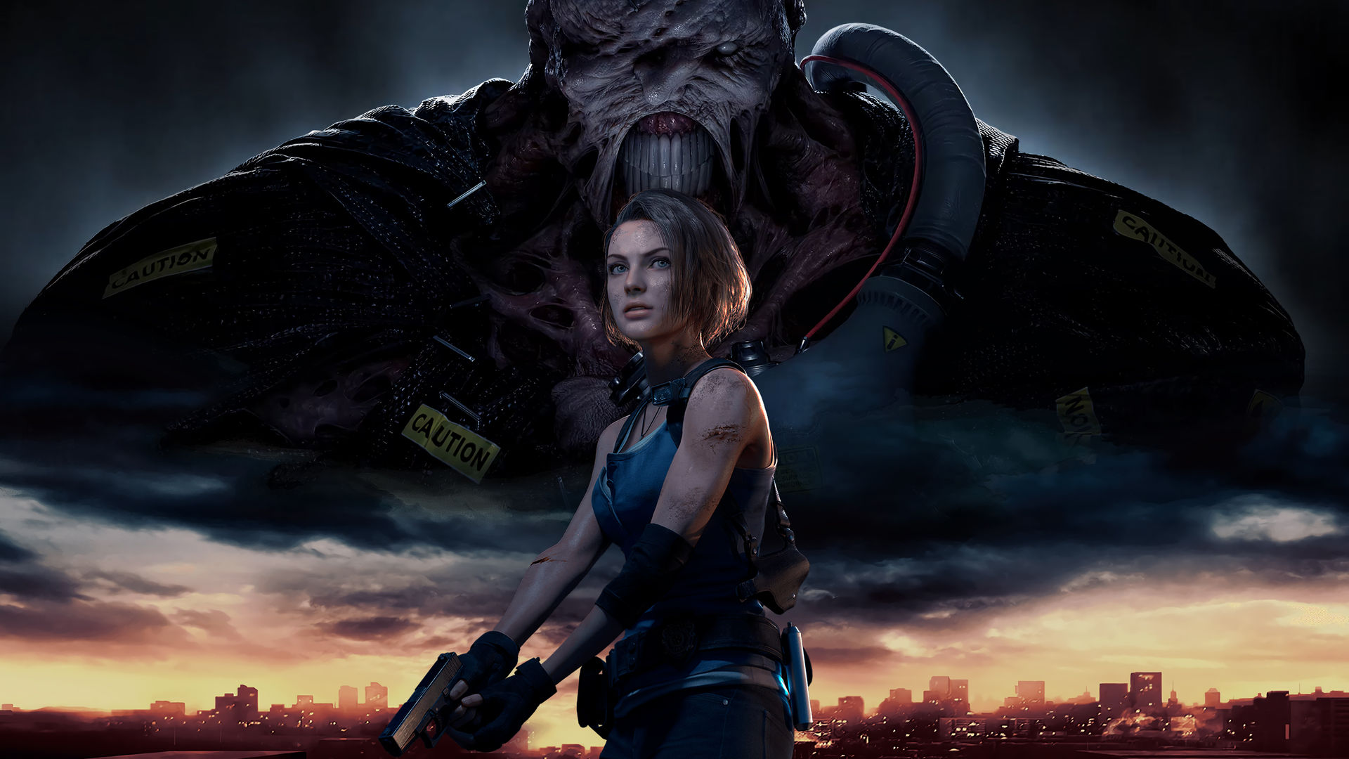 Resident Evil 3 Remake Wallpaper Jill Valentine By Nightfurious