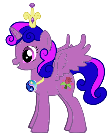 Princess Lilly Sparkle Rose by iamnater1225