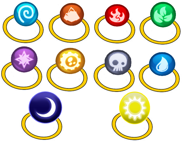 The Rings Of The Skylanders By Iamnater1225 On Deviantart