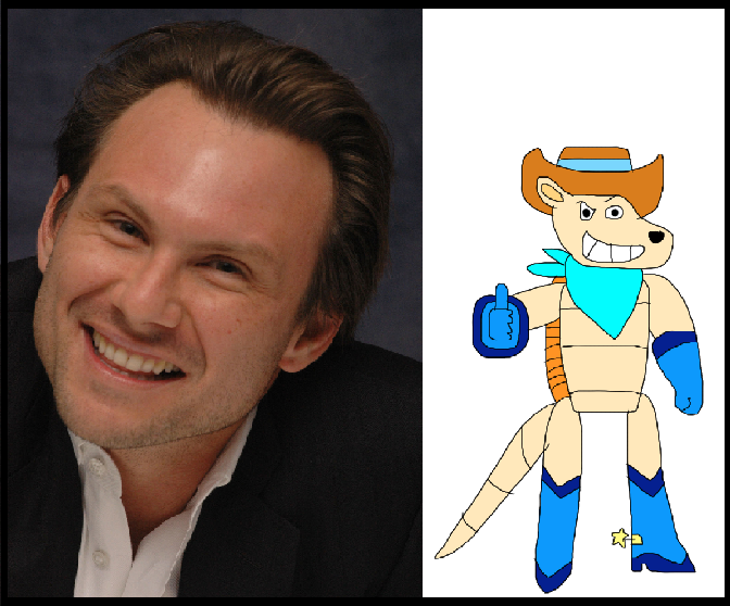 Christian Slater as Artie by iamnater1225