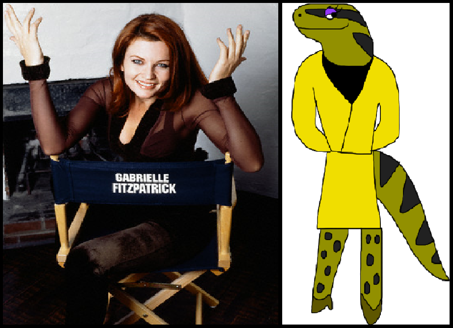 Gabrielle Fitzpatrick as Loretta by iamnater1225