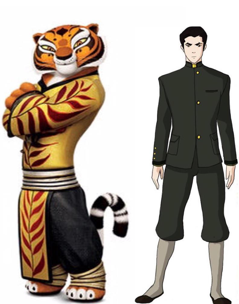 Tigress and Mako by iamnater1225