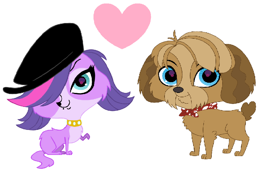 Zoe Trent and Digby by iamnater1225