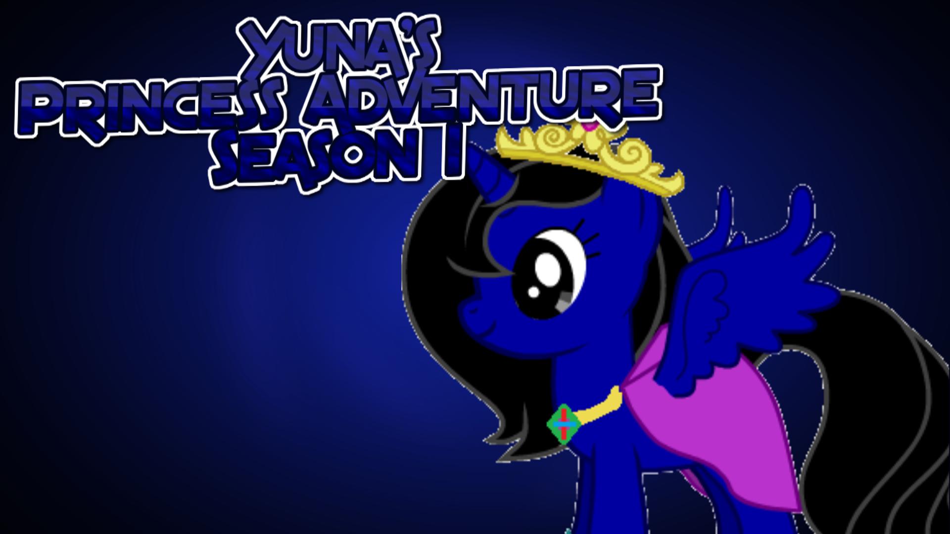 Yuna's Princess Adventure Season 1 poster by iamnater1225