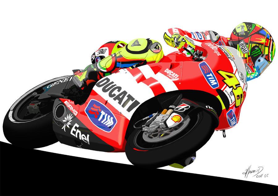 VR46 - Ducati Desmosedici GP11 by aLLmanXD