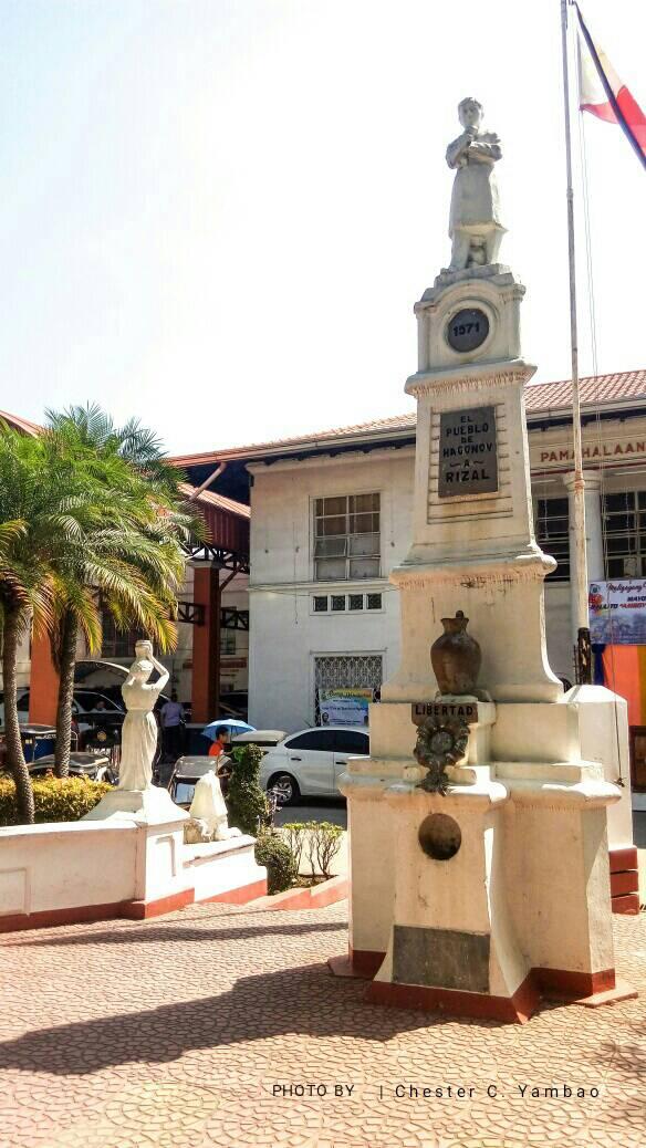 Rizal Monument in Hagonoy, Bulacan by lacrowa