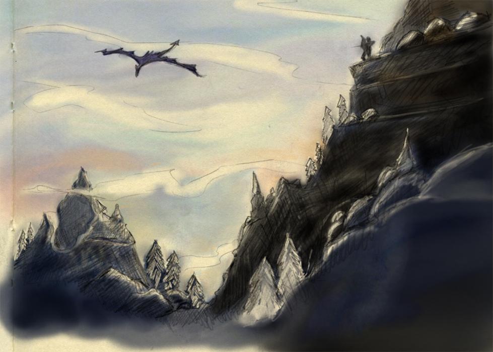 Skyrim #2 by arjaru