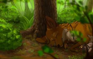 Lazy Morning by MistyGoldArt