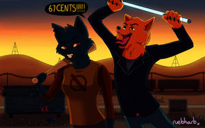 67 CENTS!!!!!! - Night In The Woods by ruebharb