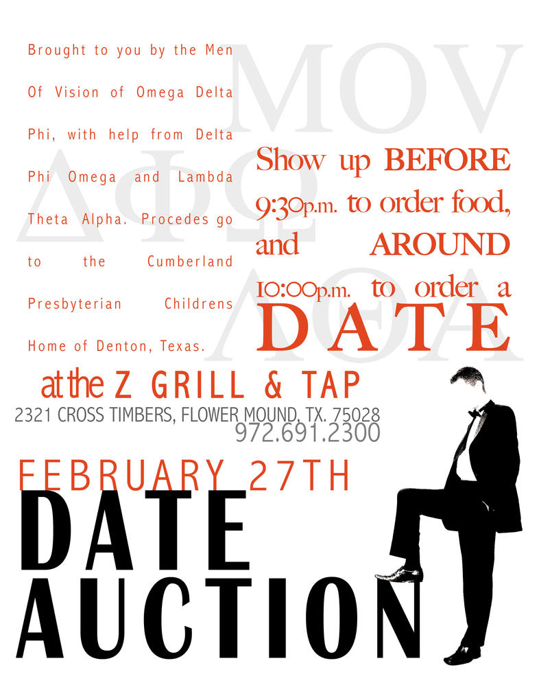 Online dating auction