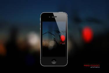 Red Moon by amirkhani