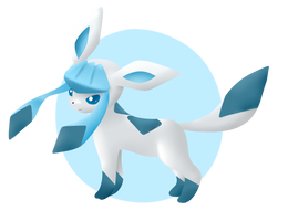 Glaceon icon for housin123 by MusicFireWind
