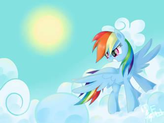 Rainbow Dash by MusicFireWind
