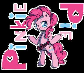Pinkie Pie by MusicFireWind