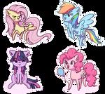 Chibi ponies
