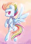 Timeskip Rainbow Dash by MusicFireWind
