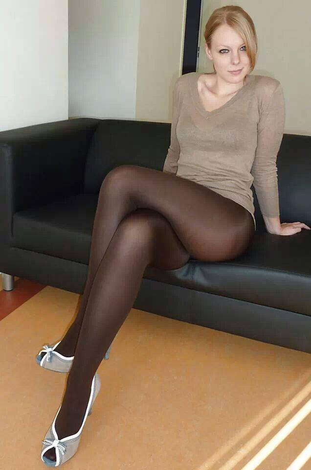 Long Mature Pantyhose 55