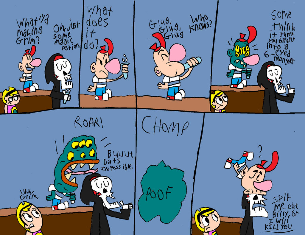 Another Billy and Mandy Halloween Comic by Dynamoe on DeviantArt