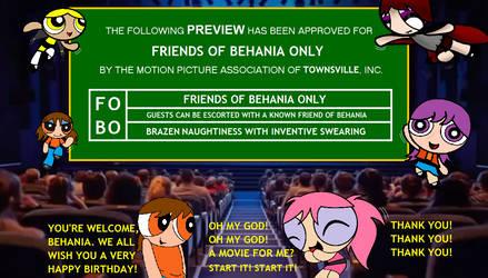 Friends of Behania Only by Dynamoe
