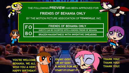 Friends of Behania Only by Dynamoe