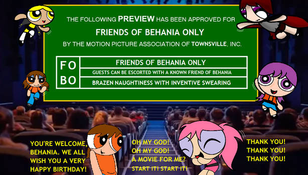 Friends of Behania Only