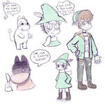 Random Moomin sketches