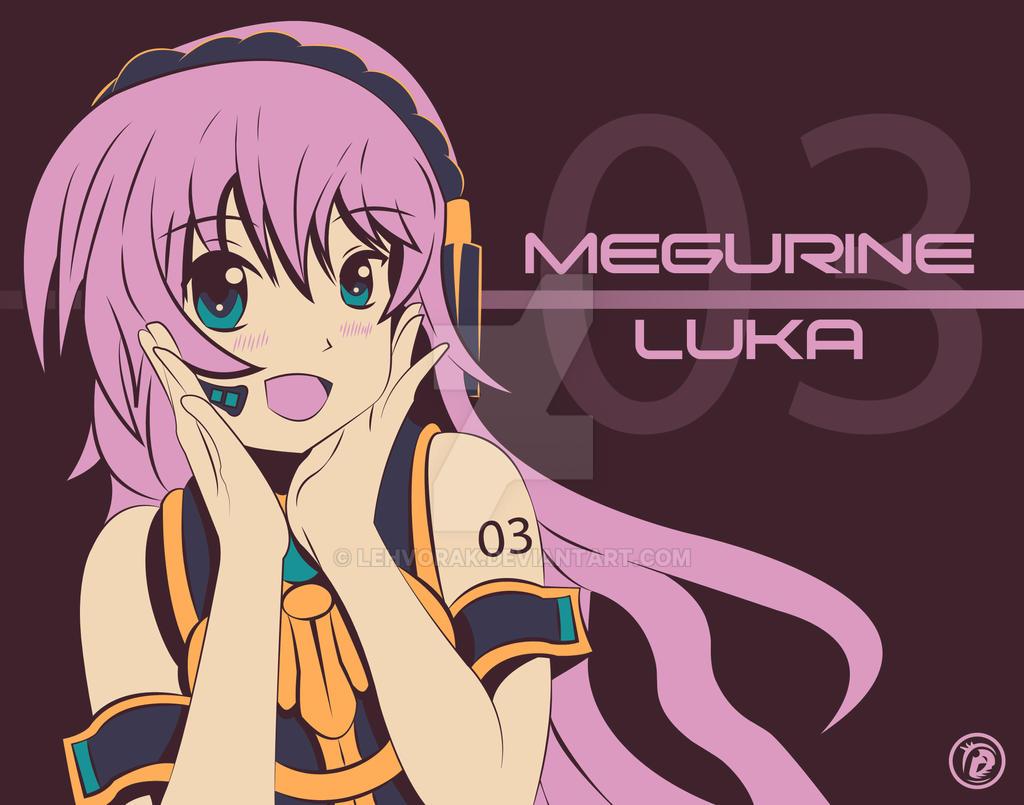Megurine Luka by Lehvorak