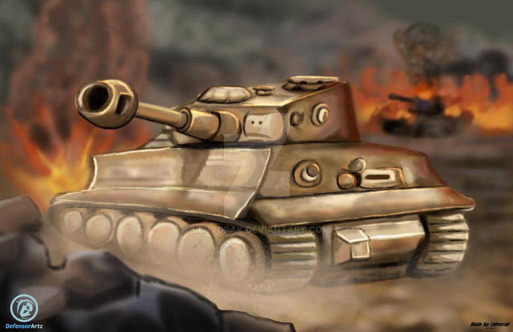 Tank at War! by Lehvorak