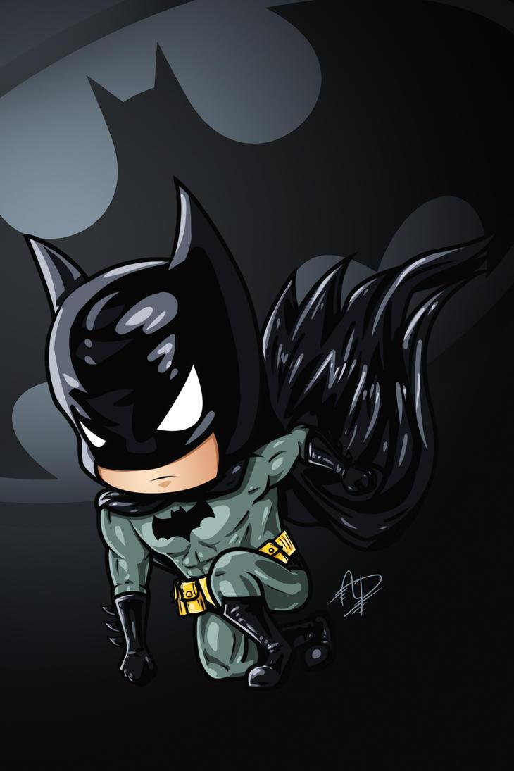 Chibi Batman by Arrrain on DeviantArt