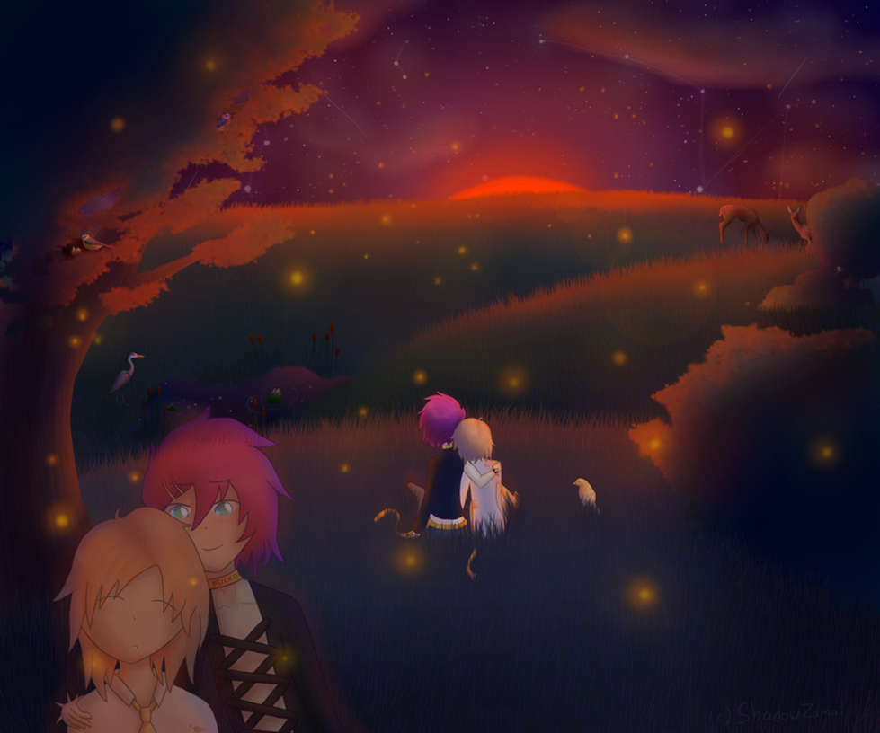 [Contest Entry] Magical Sunset by ShadowZamai