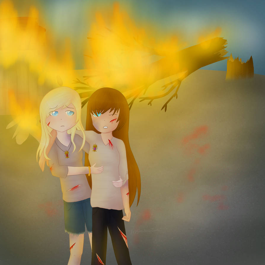 [Comm] Ximara and Maria for dawn-refia by ShadowZamai