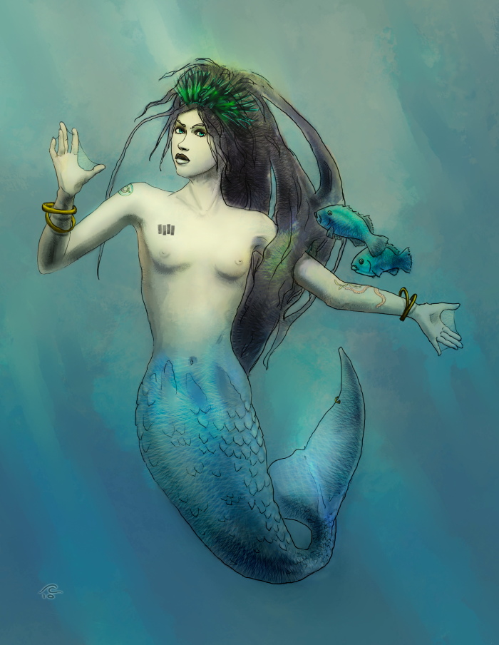 Mermaids Real Pics Real Mermaid by The0phrastus