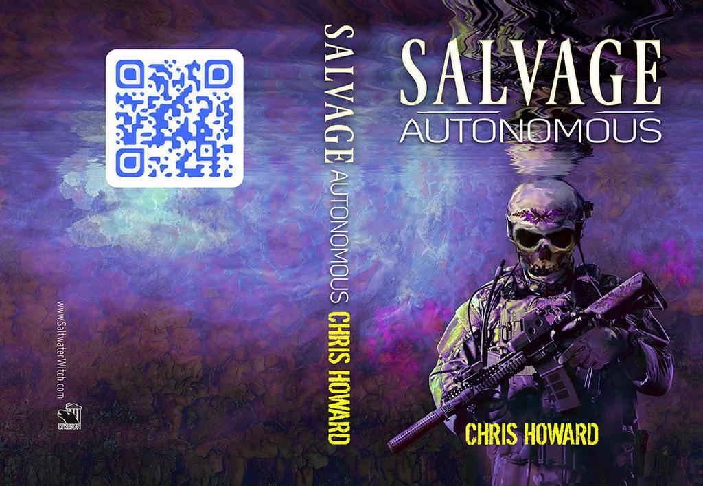 Salvage Autonomous Book Cover - Chris Howard by the0phrastus