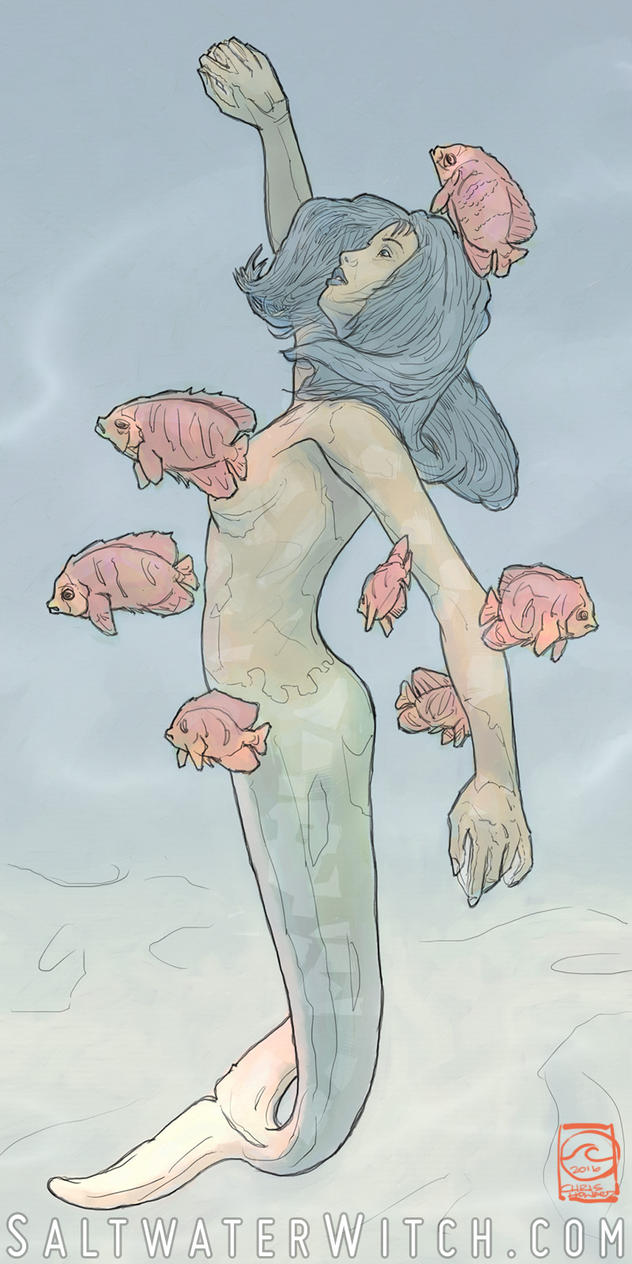 Mermaid by the0phrastus