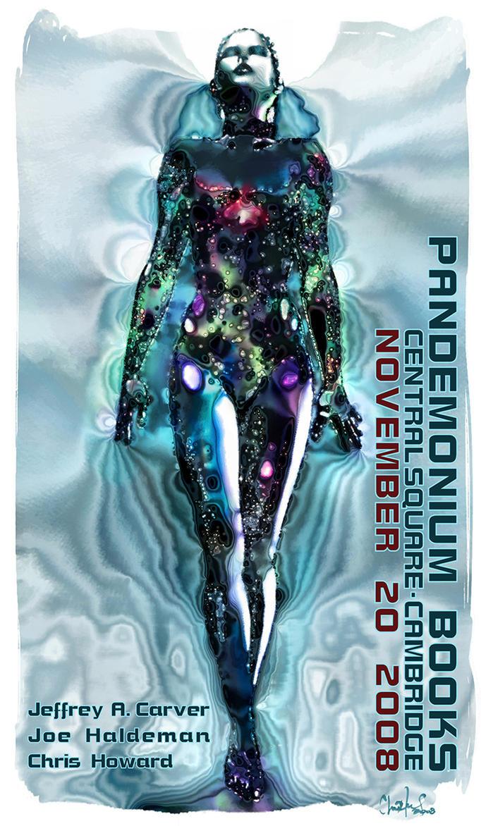 Art for Pandemonium Books - Haldeman Carver Howard by the0phrastus