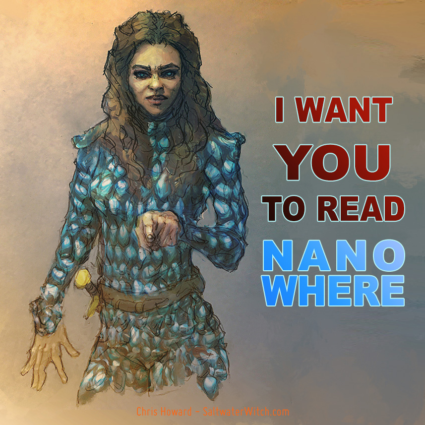 ]Nanowhere poster by the0phrastus
