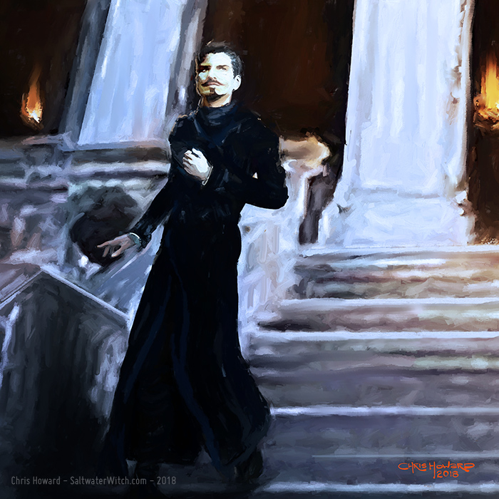 Havelock Vetinari - Ankh-Morpork Patrician by the0phrastus