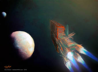 Cargo To Enceladus by the0phrastus