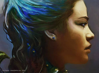The Sea - Kassandra from the book Seaborn