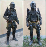 Modified METRO 2033 ranger cosplay